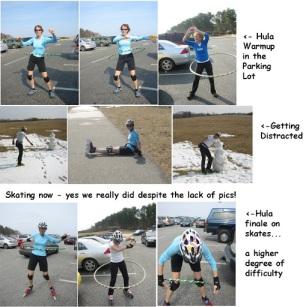 Skating meets Hula!