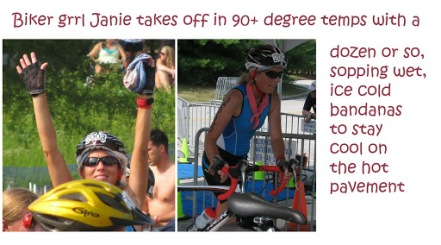 Curly's CREW sizzles in the intense heat of the Celebration TRI