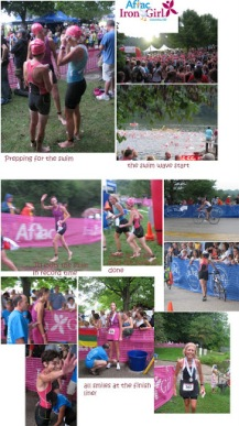 2010: Iron Girl Sprint Triathlon