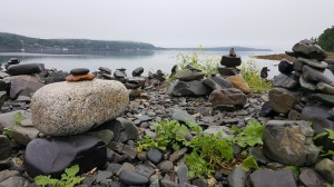 Maine coastline views