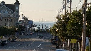 Beachtown Main Streets in early AM