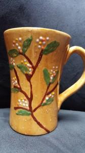 Winter dogwood mug