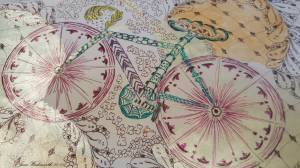 Jane's bicycle doodles