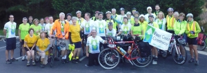 East Coast Greenway WAY Tour 2015 cyclists