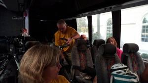 Bus back to Fredericksburg