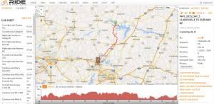 Clarksville VA to Durham NC