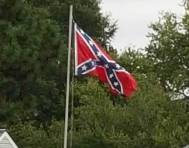 Confederate Flag in rural VA