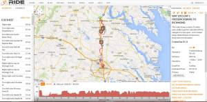 Fredericksburg to Richmond