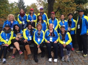 Volunteers from Zone 3